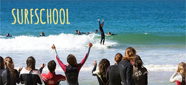 Surf classes with cerified teachers